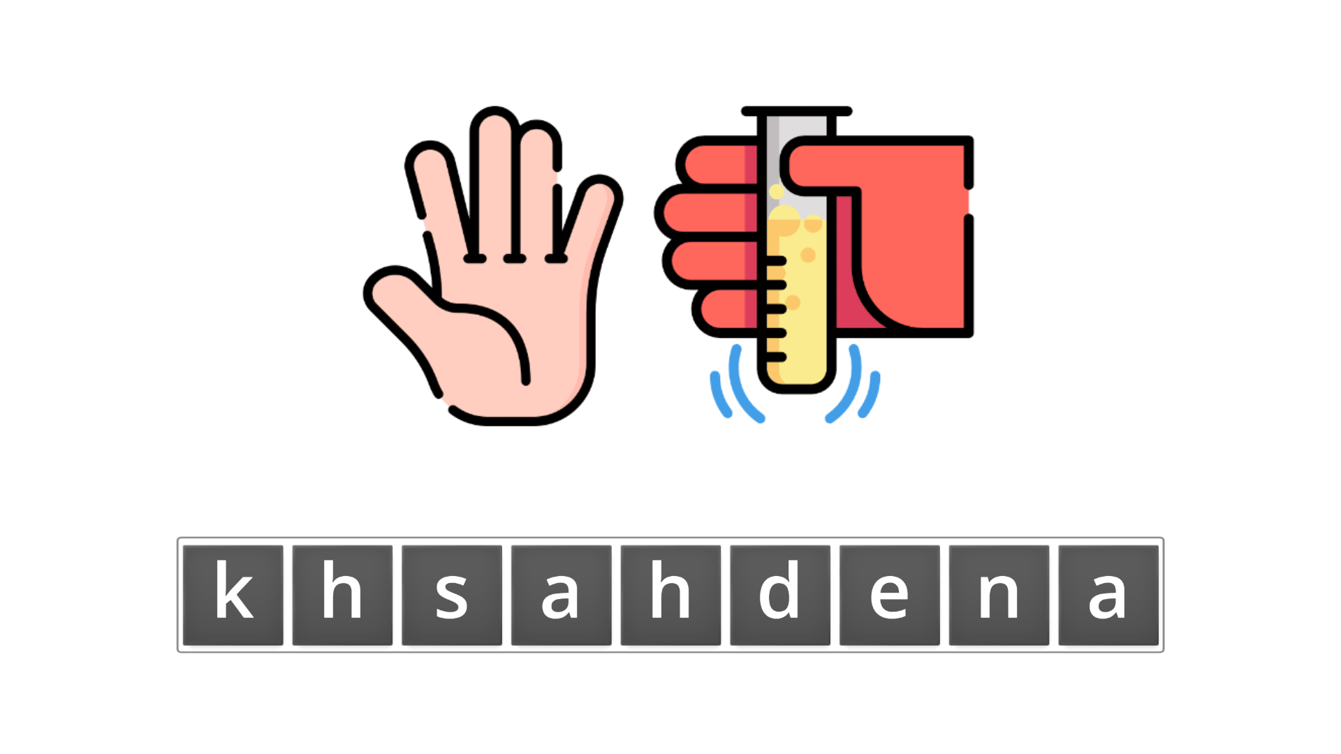 esl resources - flashcards - compound nouns - unscramble - handshake