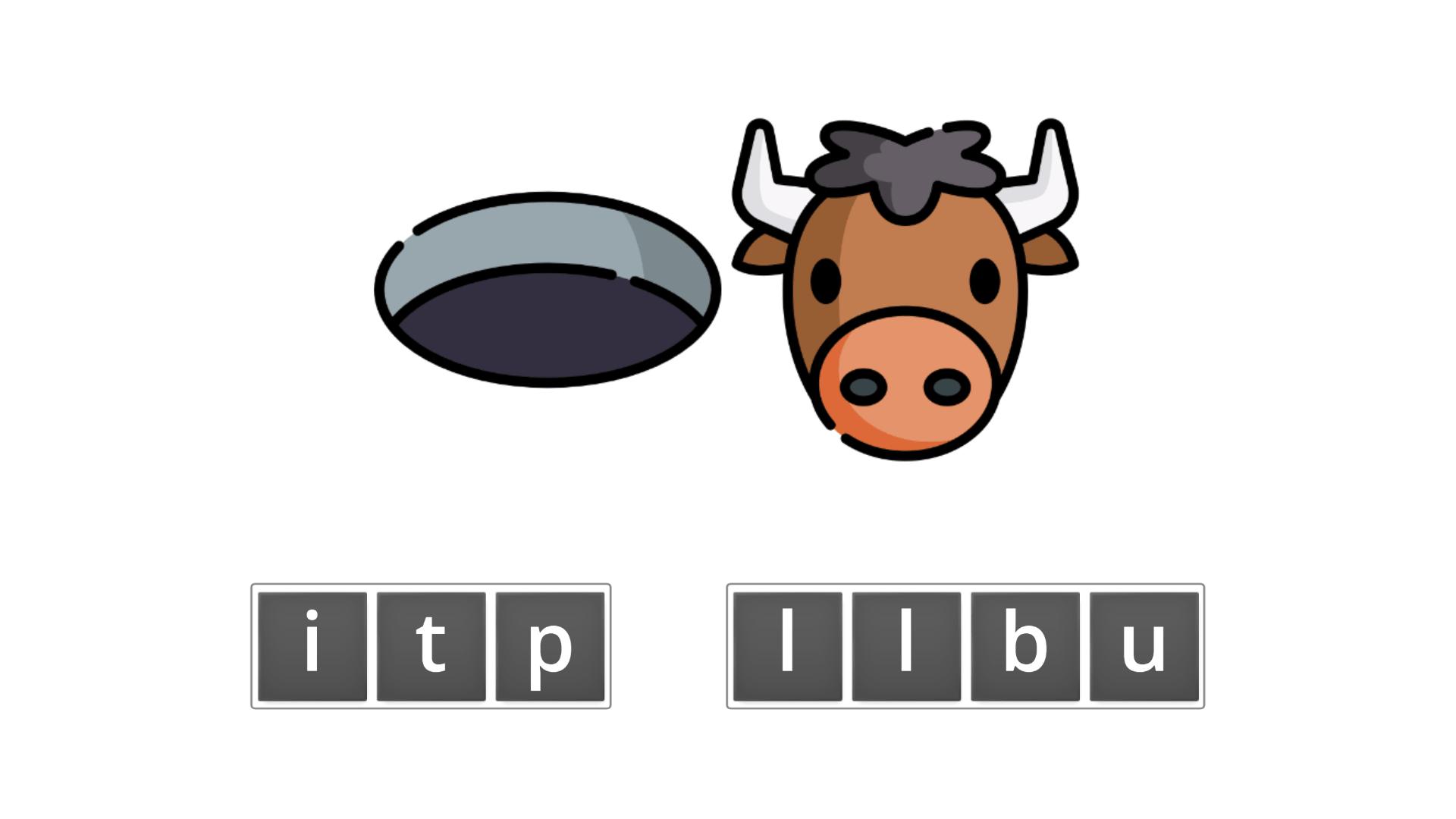 esl resources - flashcards - compound nouns  - unscramble - pit bull